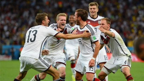 Germany Wins the World Cup