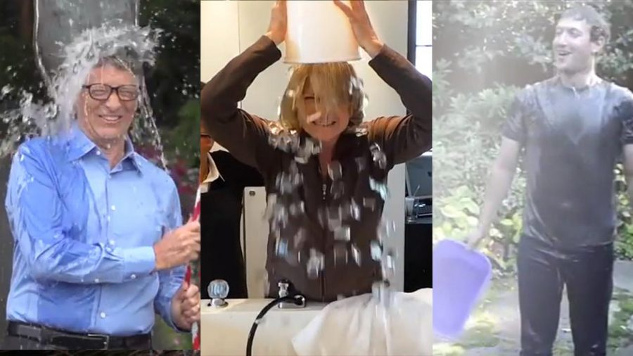 Bill Gates, Martha Stewart, and Mark Zuckerberg are one of the countless participants in the Ice Bucket Challenges for ACL awareness and research funding.