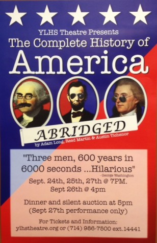 Come see the Complete History of America... Abridged