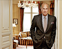The legend Oscar de la Renta himself.
