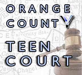 One of the many logos that promotes teens' involvement in courtrooms.