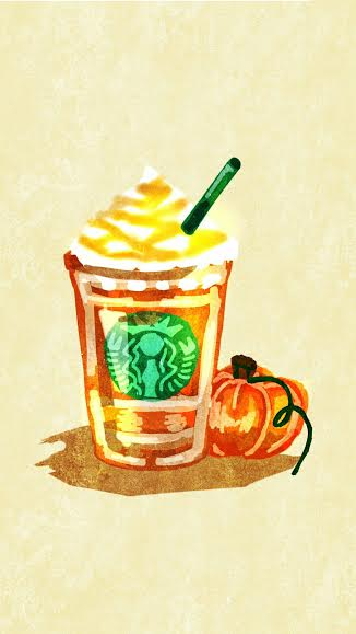 A frappuccino for an autumn day, sure hits the spot!
