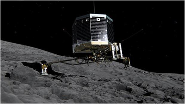 Photo courtesy of cbsnews.com An artist's interpretation of Philae as it lands on comet 67P
