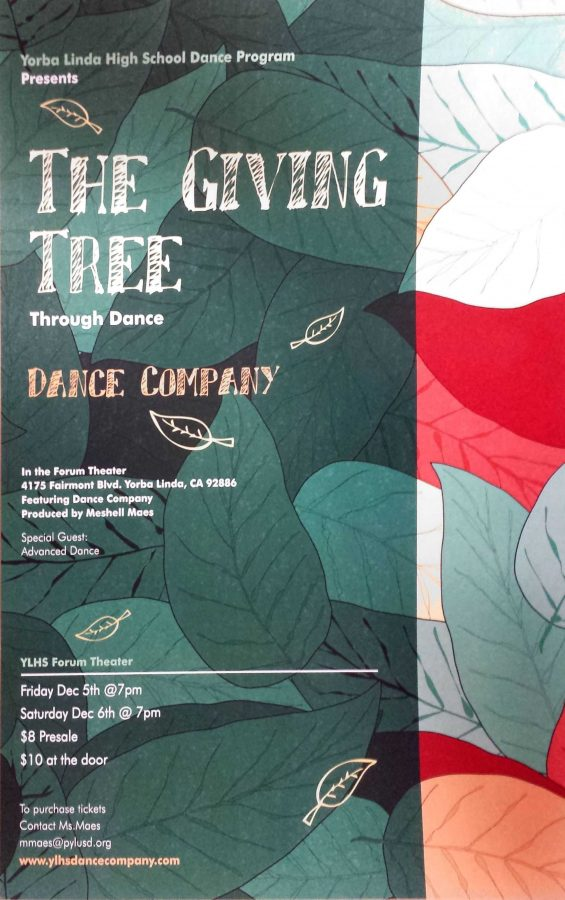 Fall Dance Concert on December 5th & 6th
