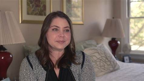Brittany Maynard, pictured above, in the last month of her life.