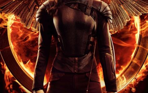 The movie poster for Mockingjay: Part 1.