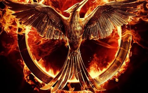 Mockingjay: Part 1 movie poster.