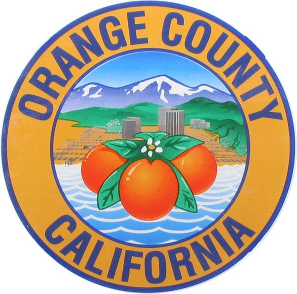The Orange County seal.