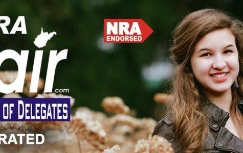 One of Saira Blair's Campaign advertisements.