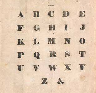 Lost Letters of the Alphabet