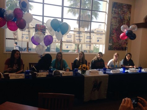 Congrats Signed Athletes!