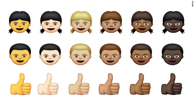 Apple's Diverse Emojis