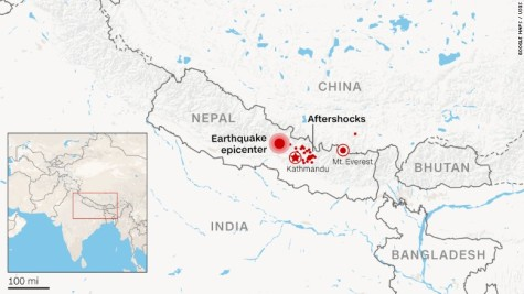 Deadly Earthquake Strikes Nepal