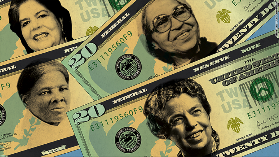 Push for Female Face on $20 Bill