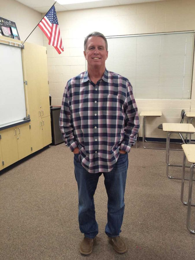 Mr. Moore is the 2015 Teacher of the Year in YLHS