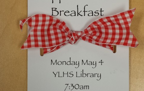 Each teacher received this invitation from PTSA Student Leadership for the breakfast.