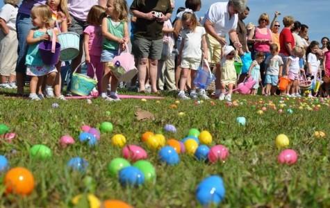 An Easter tradition involving eggs: an egg hunt!
