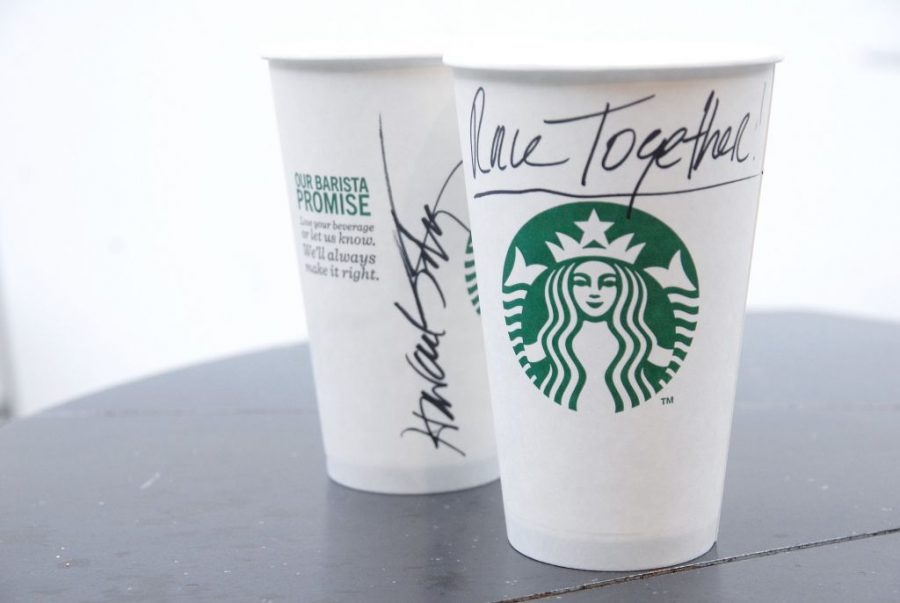 Starbucks is promoting conversations about race by writing