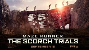 Movie poster for the Scorch Trials