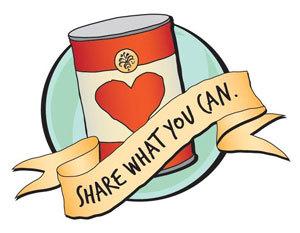 canned food drive vs esperanza the wrangler rh ylhsthewrangler com christmas food drive clipart thanksgiving food drive clipart