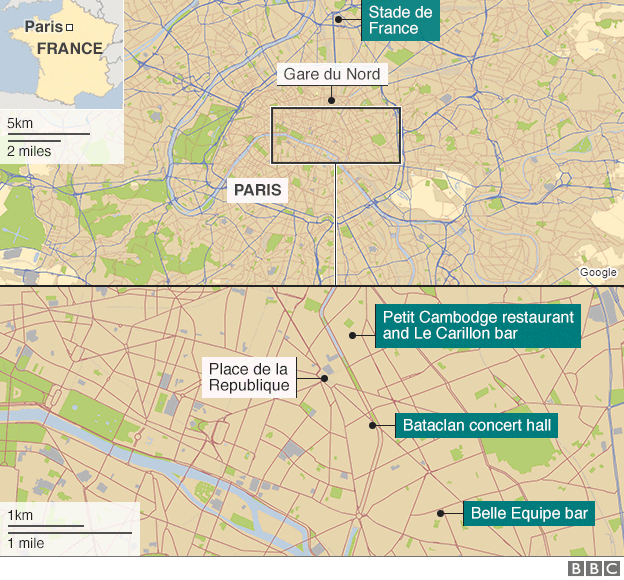 Bataclan Concert Hall Paris Map.Paris Attacks The Wrangler