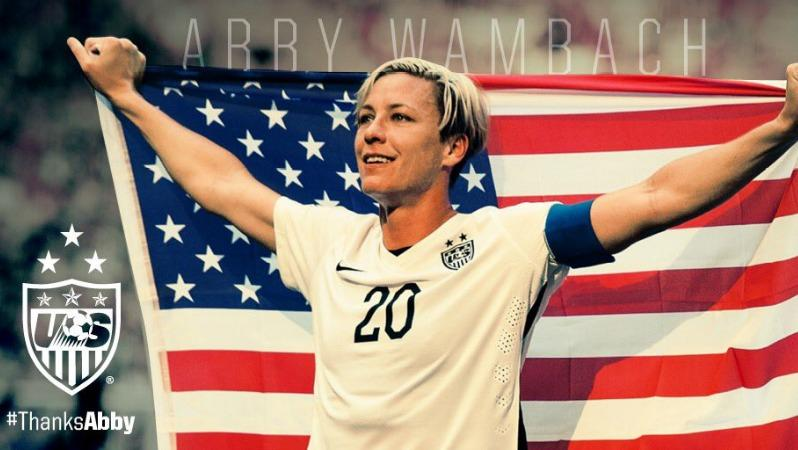 #ThanksAbby (Photo Courtesy of US Soccer)