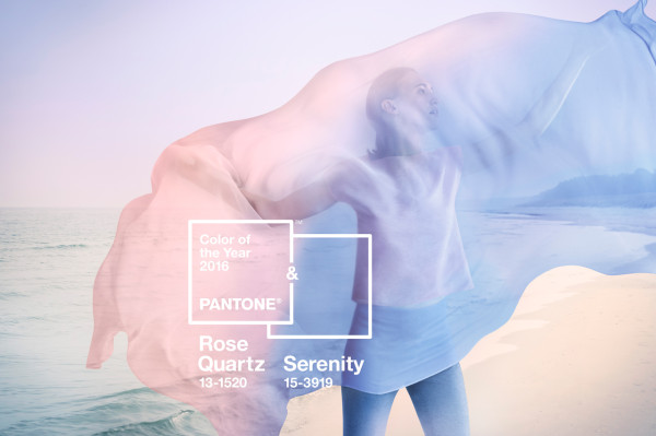 Pantone names Rose Quartz and Serenity as the 2016 Colors of the Year
