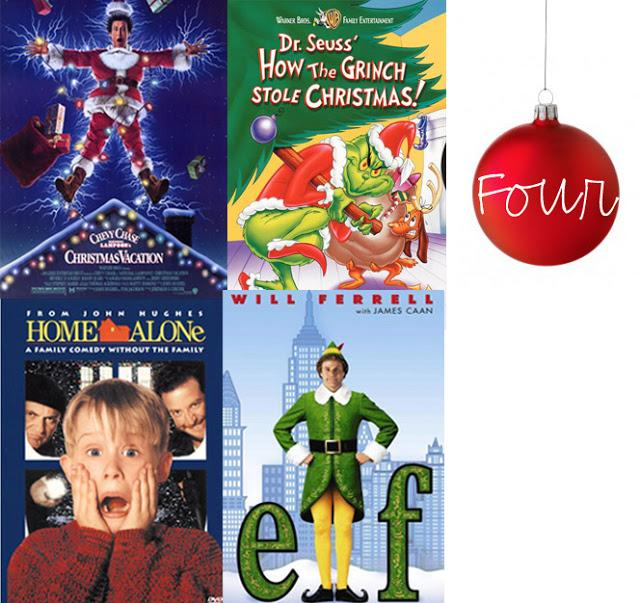 The Top Four Holiday Films. Photo courtesy of southerncurlsandpearls.com