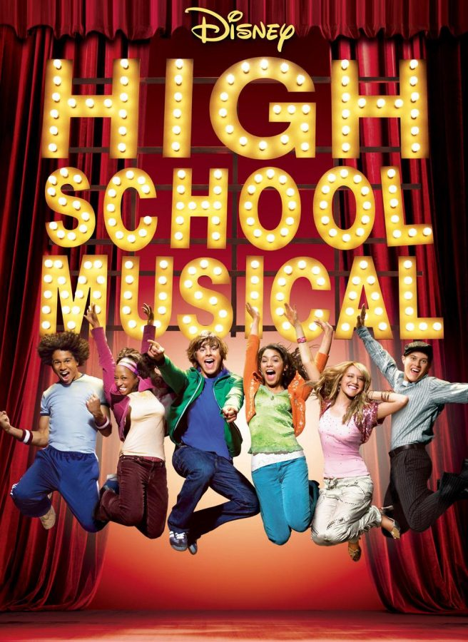After 10 years, the High School Musical cast reflects on the impact of their movie. This was the cover of the first movie.