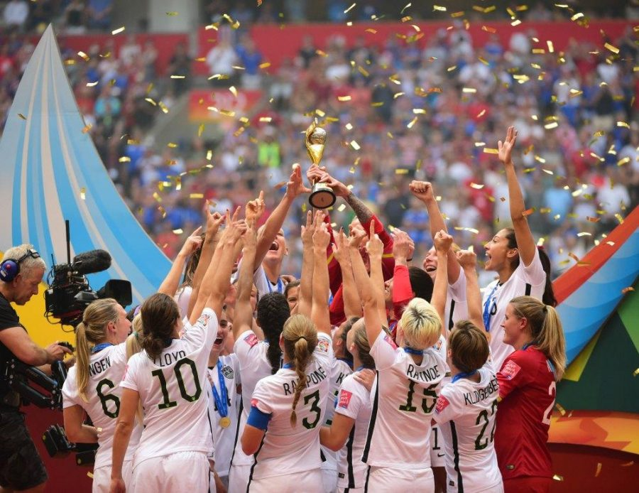 US Women's Soccer: World Cup Champions (Photo Courtesy of USA Today)