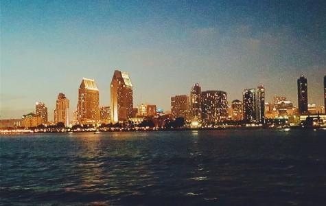 Stunning night views of San Diego
