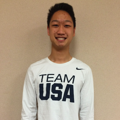 Matthew Liao, a sophomore at Yorba Linda High School, days after his time competing in the 2016 Rifle & Pistol World Cup Bangkok.