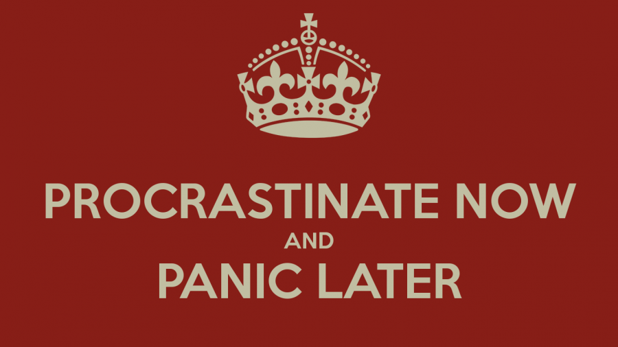 A Pro at Procrastination