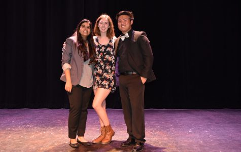 From left to right: Aleeha Kalam, Heather Gammon, Roger Fang