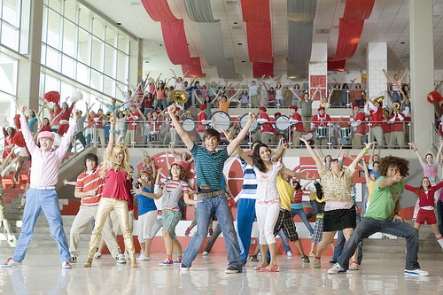 High school is obviously not like High School Musical.