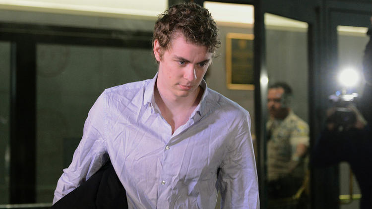 Brock Turner leaves the Santa Clara County Main Jail in California after serving only 3 months for rape.