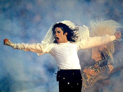 Michael Jackson performing live