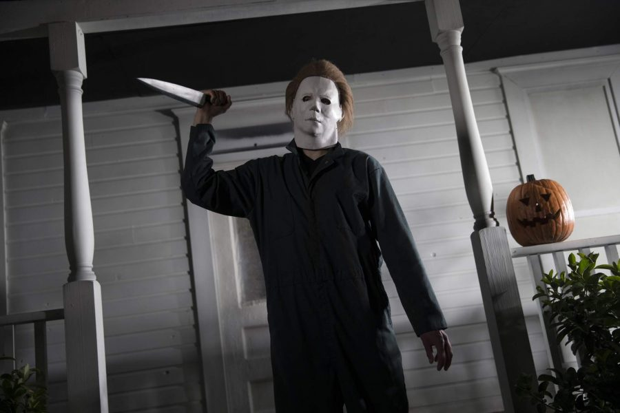 Michael Myers in the movie Halloween;    photo courtesy of TBO.com
