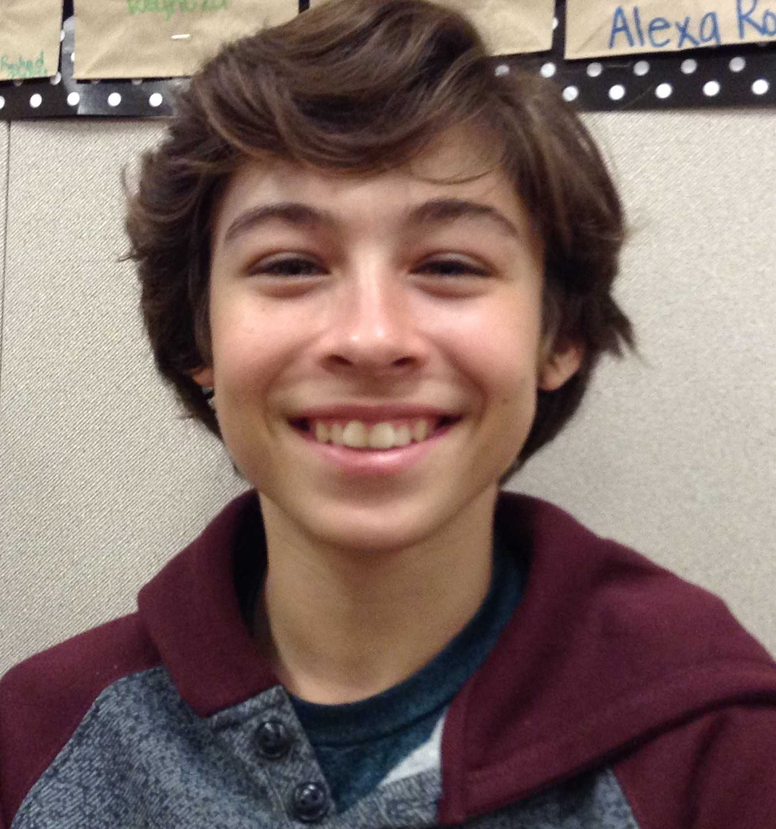 Zach YLHS Freshman who is in advanced dance as well as honors classes.