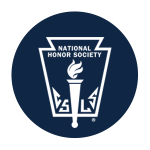 The official logo for NHS is displayed on all official membership certificates.