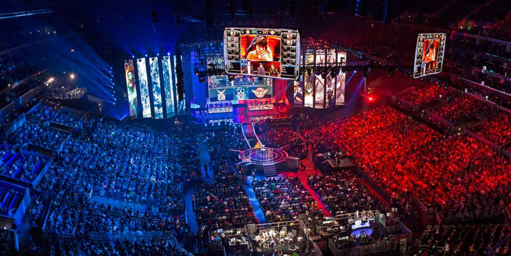 A League of Legends tournament. sportingnews.com