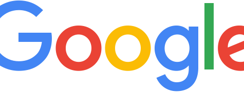 The current Google logo