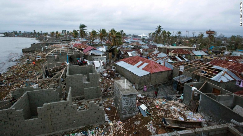 A+brief+look+at+the+aftermath+of+Hurricane+Matthew+in+Haiti.+Photo+courtesy+of+CNN%0A