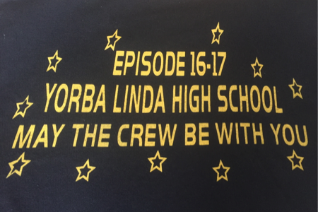 photo taken from back of Link Crew T-Shirt by Lily Rajaee