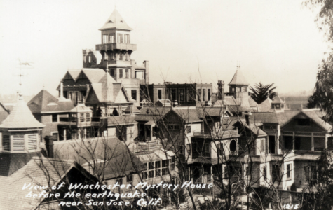 The Winchester Mystery House, picture adapted from PLACES TO GO...THINGS TO DO from website Pinterest