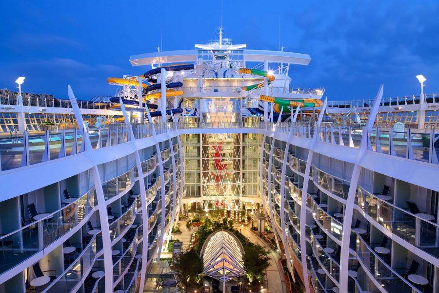 Harmony Of The Seas the largest cruise ship in the world