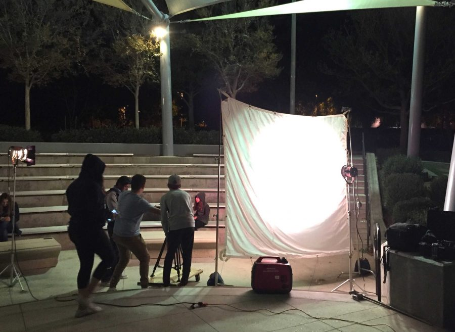 A look at the filming for Mustang Mix. Photo courtesy of Mary Liu (10)