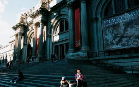 The exterior of the Metropolitan Museum of Art on Fifth Avenue