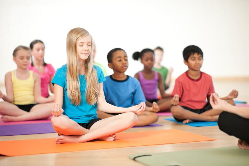 Robert W. Coleman Elementary and the Holistic Life Foundation work together to encourage meditation and replace detention. Photo courtesy of mindfullyMAD