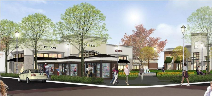 The Yorba Linda Town Center will be anchored by Bristol Farms, a movie theater, restaurants and  retail shops.